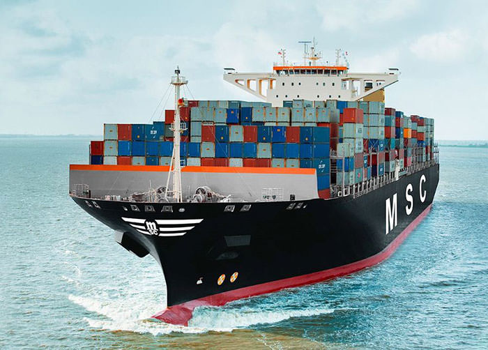 msc registers vessels in mar